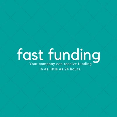 fast funding